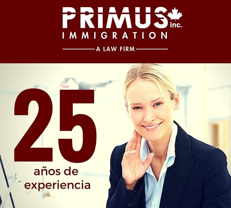 Primus Immigration: Expertos certificados en inmigración canadiense