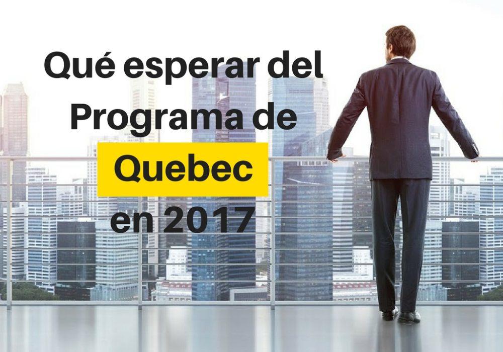 Primus Immigration: Qué esperar del programa de Quebec en 2017